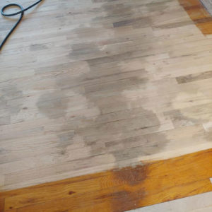 does refinishing hardwood floors remove pet stains?